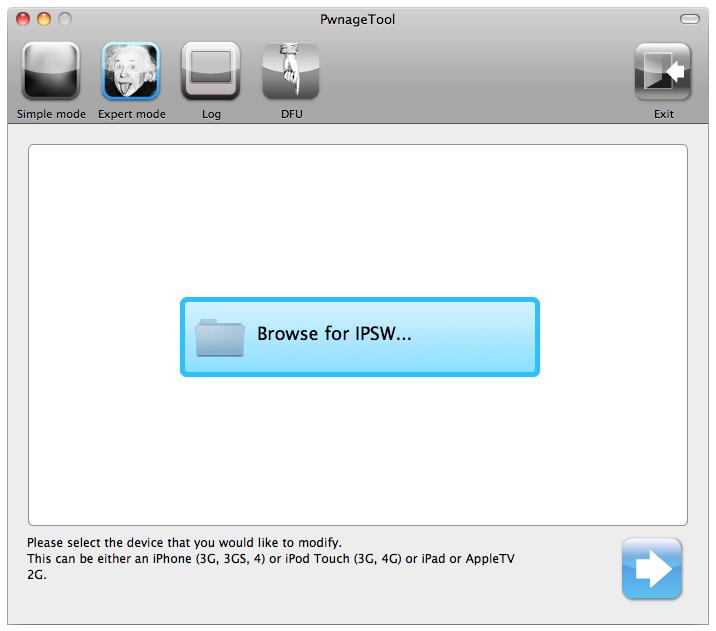 pwnage tool 4.1 pour windows