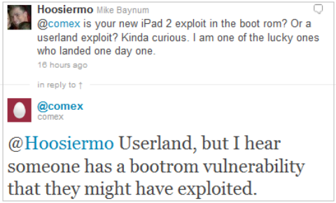New Bootrom Exploit  to Jailbreak 4.3 iPad 2