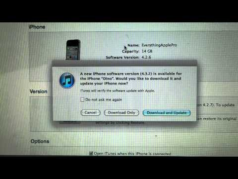 iOS 4.3.2 & 4.2.7 Released! Jailbreak + Update Info