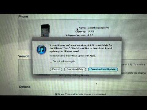 iOS 4.3.2 & 4.2.7 Released! Jailbreak + Update Info