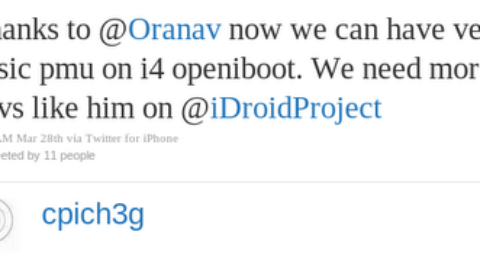 Android Porting to iPhone 4 / iPod Touch 4G, 3G / iPad 1, 2 Very Soon !