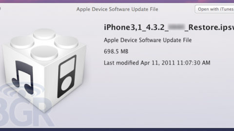 iOS 4.3.2 Releasing Next Week to Fix Verizon iPad, FaceTime and Security Holes