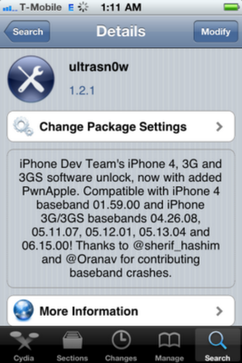 Ultrasn0w 1.2.1 Unlock For iPhone 4 & iPhone 3GS On iOS 4.3.1 [Release Tonight]