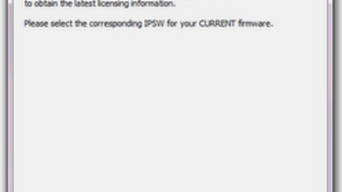 Ramdisk & Freezing Redsn0w 0.9.6rc11 Errors 4.3.1 Fixed