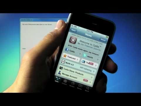 How To Jailbreak 4.3.3 iPhone 4/3Gs, iPod Touch 4G/3G & iPad – Redsn0w