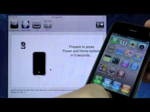How To Jailbreak 4.2.8/4.3.3 & Unlock iPhone 4/3Gs Untethered – Pwnagetool Mac
