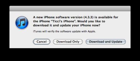 Download iOS 4.3.3 IPSW (Direct Links)