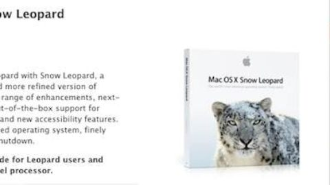 Shortage of OS X Snow Leopard suggests imminent launch of OS X Lion