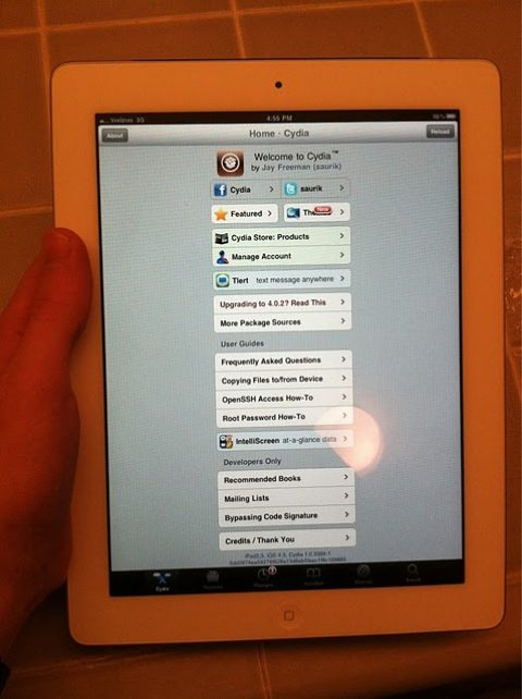 iPad 2 Jailbreak Progress