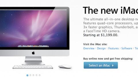 Apple Updates iMac Lineup With Quad-Core CPUs & Thunderbolt