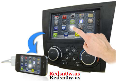 Mimics Dash: Operate an iPhone via a touch screen monitor