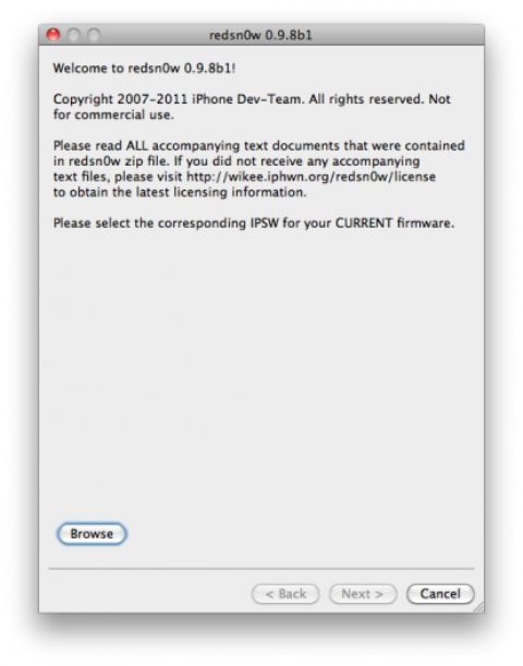 Redsn0w 0.9.8 Download Available.. Brings iOS 5 Jailbreak