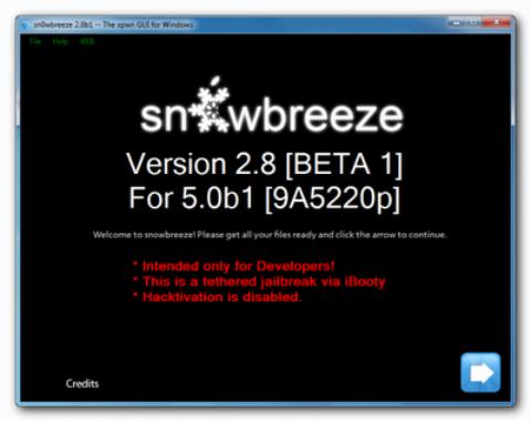 Sn0wbreeze 2.8 Released To Jailbreak iOS 5 (Windows) – Download