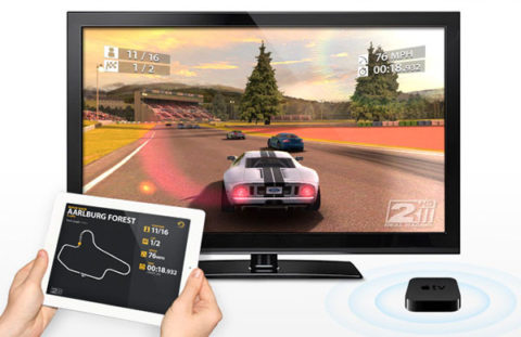 Real Racing 2 HD First to Support Wireless Gaming over AirPlay on Apple TV 2