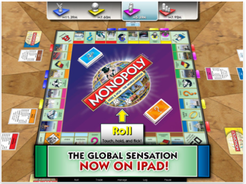 Your iPad Turns Into A Classic Board Game