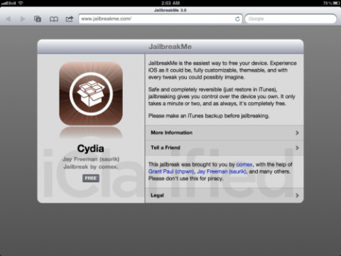 Comex Releases JailbreakMe 3.0 Source Code