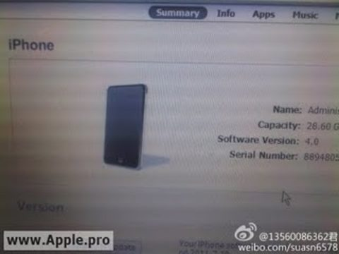 The Next iPhone Prototype Leaked Photo, Looks Just like iPhone 4