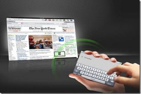 Use Your iPhone, iPod As An External Keyboard For Your iPad