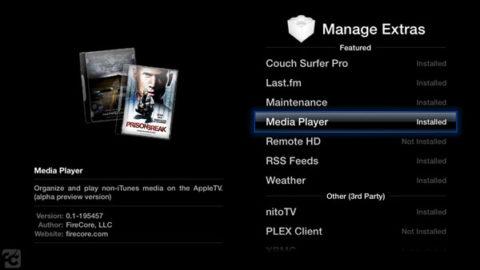 Media Player 0.6 for Apple TV 2 Released