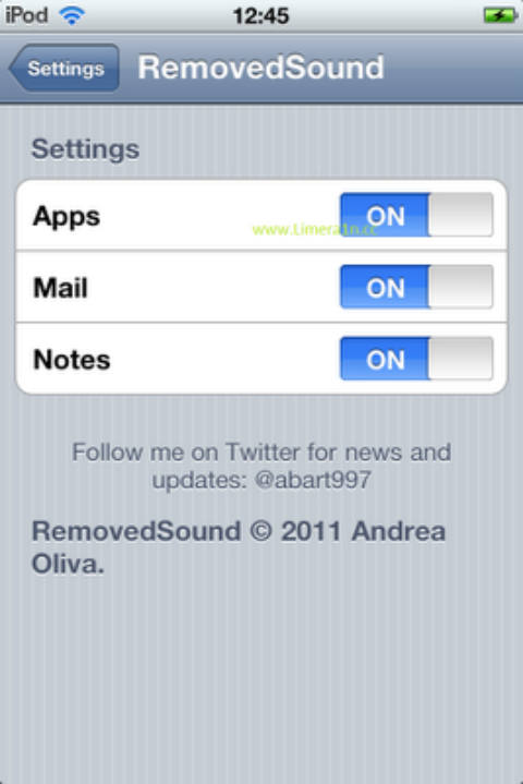 A Cydia Tweak That Brings You Mac OS X Delete Sound on your iDevice