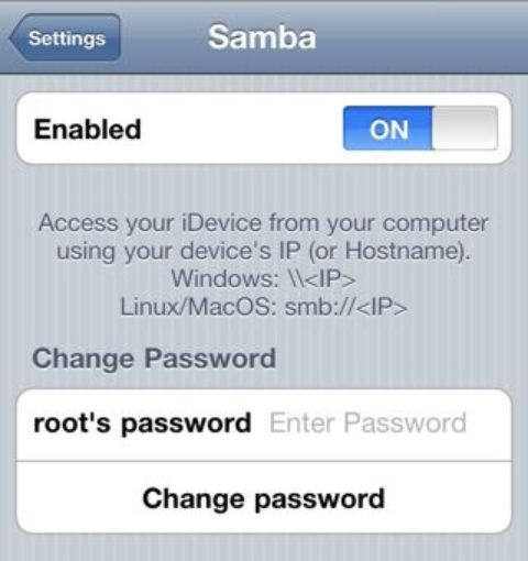 Connect Your iDevice With Windows Network using Samba Port