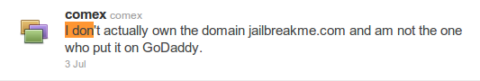 """Jailbreakme.com Has Changed With """"We'll Be Back Soon"""""""