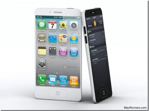 Rendering Of The iPhone 5