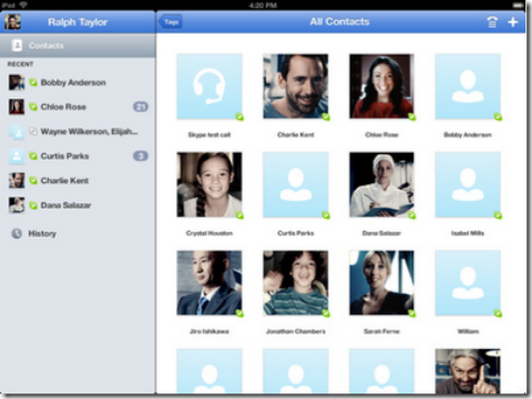 Skype App For iPad 1, 2 Is Now Available
