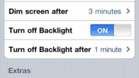 ScreenDimmer: A Cydia tweak that saves battery life
