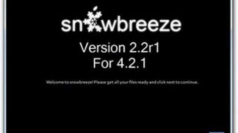 Sn0wbreeze 2.2 Jailbreak 4.2.1, Preserve Baseband, UltraSn0w Unlock [Video Guide]