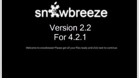 Sn0wbreeze 2.2 released, allows you to create custom iOS 4.2.1 firmware files on Windows