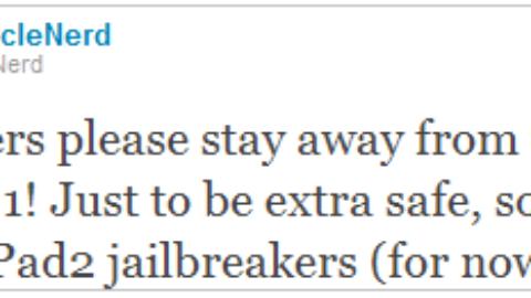 Dev-Team: iPhone Unlockers and iPad 2 Jailbreakers Stay Away from iOS 4.3.1