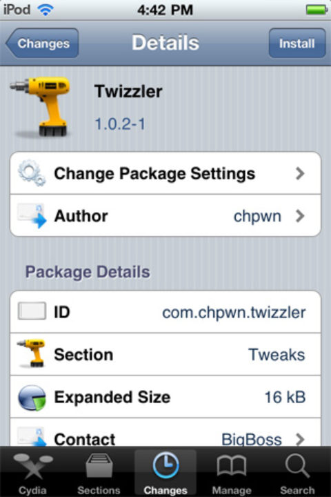 Twizzler: A Cydia tweak to remove trends bar from Twitter 3.3 for iOS