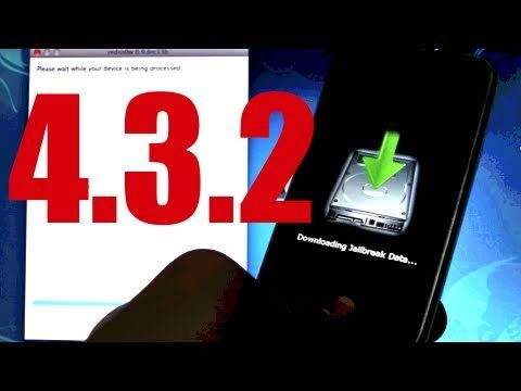 NEW Untethered 4.3.3/4.3.2 Jailbreak iPhone 4/3Gs iPod Touch 4G/3G & iPad – Windows/Mac Redsn0w