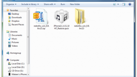 Jailbreak 4.3.2 untethered with Redsn0w 0.9.6rc13 [Download]