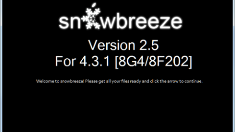 Sn0wbreeze 2.5.1 Available Now For Download !
