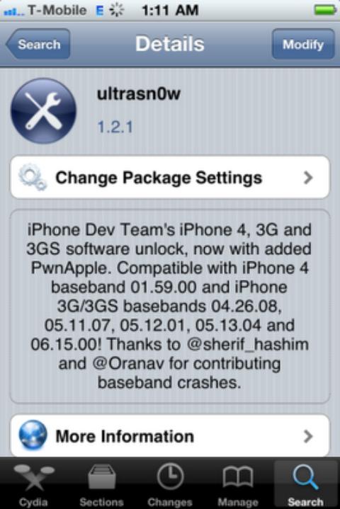 Ultrasn0w 1.2.1 Unlock For iPhone 4 & iPhone 3GS On iOS 4.3.1 [Release Tonight]