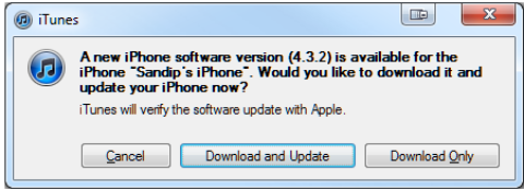Download iOS 4.3.2 on Horizon, Release in Two Weeks
