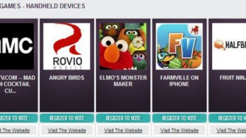 Webby Awards nominate iOS games and apps