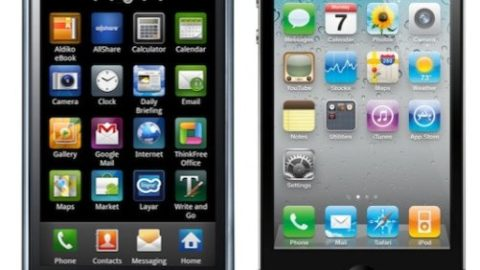 """Apple sues Samsung for """"choosing"""" to copy the look of the iPhone and iPad"""