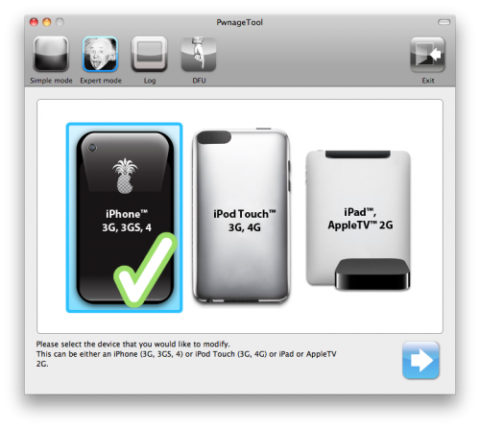 How to Jailbreak iOS 4.3.2 PwnageTool 4.3.2 on iPhone 4, 3GS, iPod Touch 4G, 3G, iPad Untethered