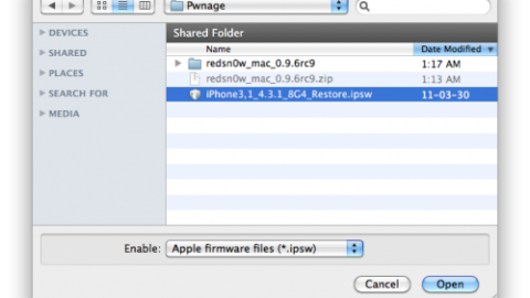 How to Jailbreak 4.3.1 Untethered Redsn0w 0.9.6rc9 iPhone 4, 3G /iPod Touch 4G, 3G / iPad [Guide]