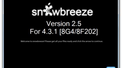 Sn0wbreeze Updated to Jailbreak Apple TV 2 on iOS 4.3.1 (updated)