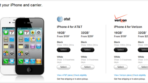 White iPhone 4 Hits the App Store, Shipping 3-5 Days