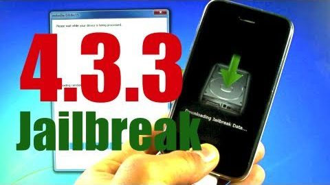 NEW Jailbreak 4.3.3 Untethered iPhone 4/3Gs iPod Touch 4G/3G & iPad – Redsn0w 0.9.6rc16