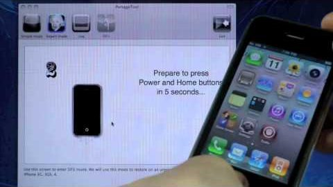 How To Jailbreak 4.2.8/4.3.3 & Unlock iPhone 4/3Gs Untethered – Pwnagetool Mac