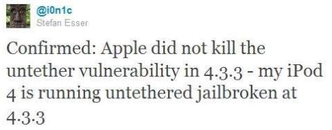 iOS 4.3.3 Untethered Jailbreak Completed – Release before Weekend ?