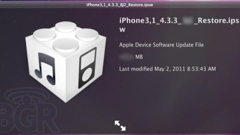 iOS 4.3.3 Screenshot – Dropping Within Next Two Weeks