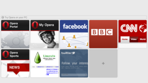 Opera Mini Now Available for iPad , Download Now