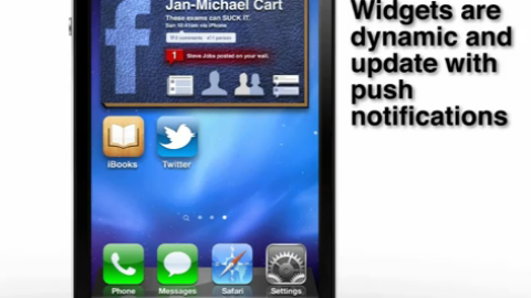 iOS 5 Concept Widgets Done Right [Video]